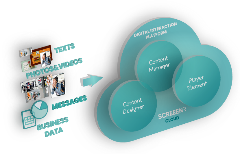 Digital Interaction Platform software cloud element